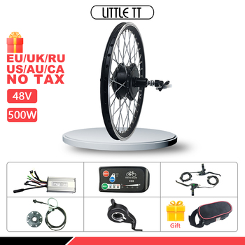 цена на Ebike Conversion Kit 20-29 inch 700C  48V 500W Rear Cassette Hub Motor wheel for Electric Bicycle Conversion Kit