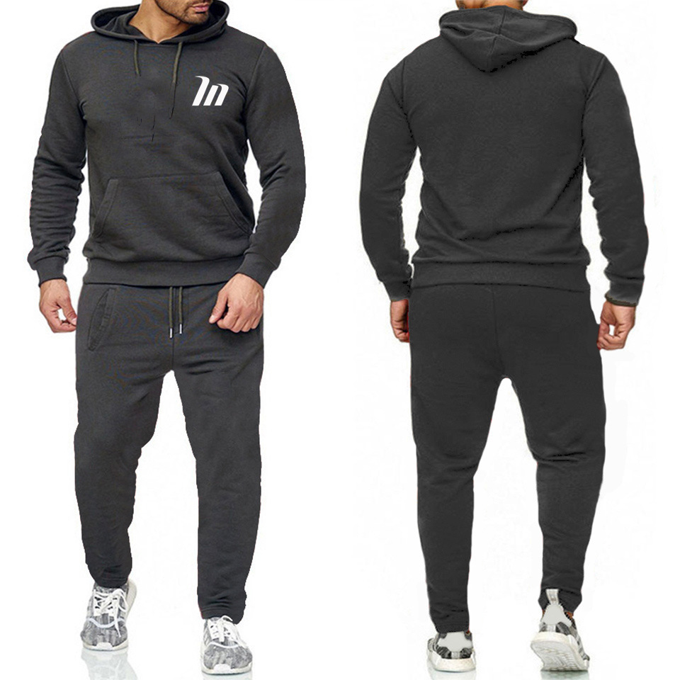 2019 Autumn And Winter Most New Style Sports Fashion Hoodie Suit Men And Women Fitness Casual Loose-Fit Ouma Hoodie Set