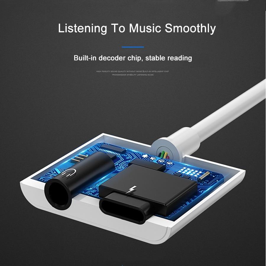 HORUG 2 в 1 адаптер для наушников для iPhone 7 8 X XS XR телефонный разъем адаптер для Lightning до 3,5 мм аудио кабель для наушников зарядка