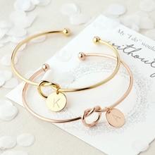 Модные ювелирные изделия, браслеты с узлом, браслеты для влюбленных, очаровательный Браслет-манжета для женщин, геометрические ювелирные изделия, подарок