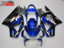 Motorcycle ABS Fairing Kit For Honda CBR954R 2002-2003 Injection ABS plastic Fairings CBR 954 02-03 Gloss Blue Bodyworks цены