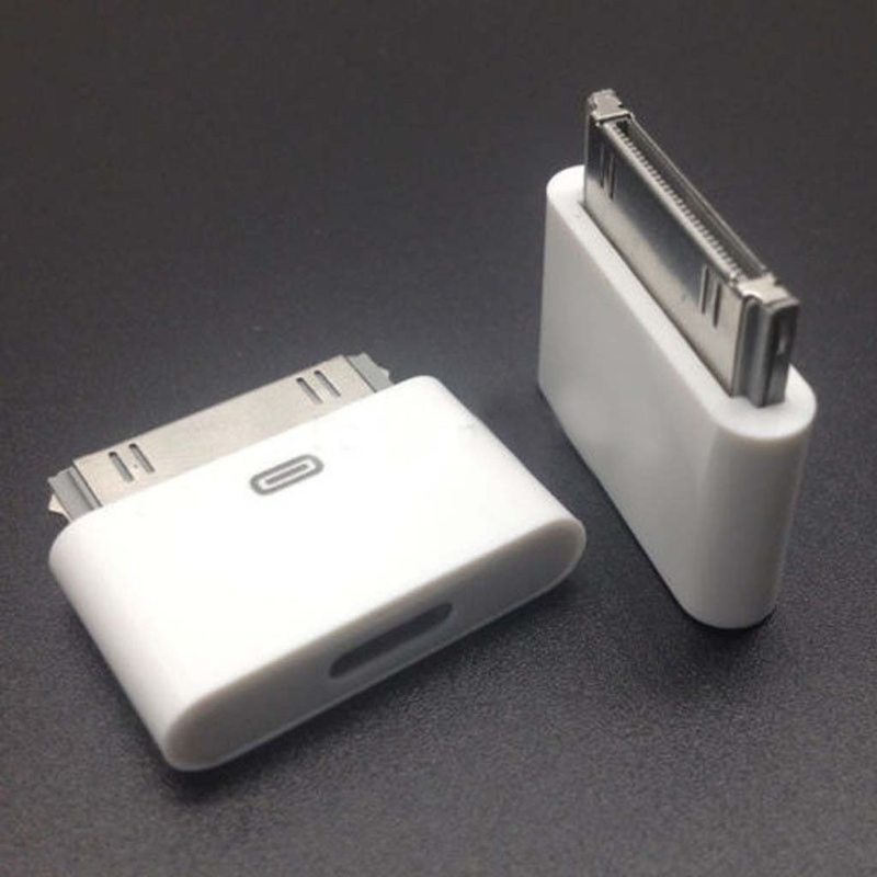 8pin Female To 30pin Male Adapter Converter For IPhone4 4S IPad2 3 IPad Touch3 4 E65A