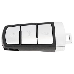 Image 5 - 434MHz 3 أزرار بدون مفتاح تقطيعه الوجه سيارة ذكية مفتاح بعيد فوب مع ID48 رقاقة 3C0959752BA لشركة فولكس فاجن باسات B6 3C B7 Magotan CC