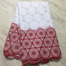 2020 Новое поступление, африканская швейцарская вуаль, кружевная ткань, французское 100% хлопковое Сетчатое кружево, французская кружевная тка...