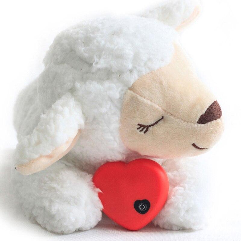 Милая поведенческая тренировочная игрушка в форме животного для щенка, плюшевый питомец, удобная кукла для облегчения беспокойства и сна