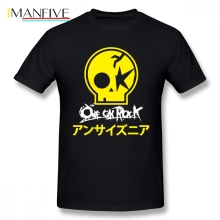 One Ok Rock Summer T Shirt Funko Pop Clothes For Men O-neck Cotton Big Size Short Sleeve T Shirts цена и фото