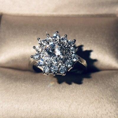 Горячая Распродажа, дизайн, роскошное большое овальное CZ кольцо золотого цвета, обручальное кольцо, хорошее ювелирное изделие для женщин, ювелирных изделий - Цвет основного камня: 15