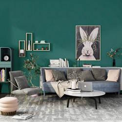 Скандинавский минималистический Однотонные темно-зеленый Ahlstrom обои Гостиная Спальня ТВ фон стены сплошной шелк цвета ко