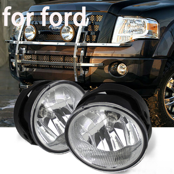 цена на Fog light for Ford Expedition 2007-2014 for Ranger 08-11 Driving Bumper Fog Lights with Bulbs