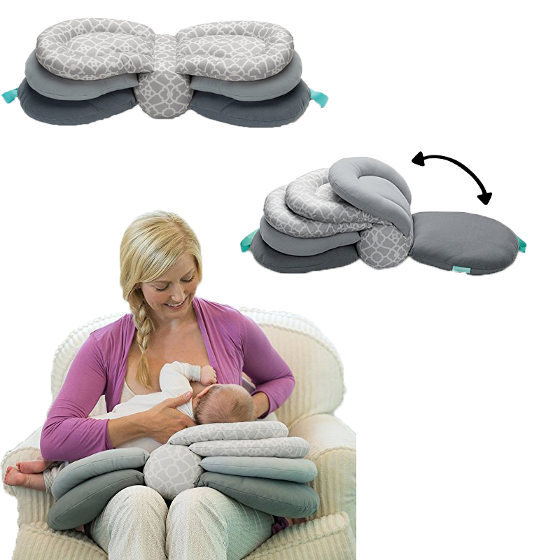 Breastfeeding Baby Pillows Page Turning Model  Infant Feeding Pillow Baby Care Multifunction Protective Waist Pillow Sleep Pillo