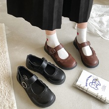 2020 new Japanese small leather shoes female Korean version