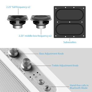 Image 5 - GGMM Outdoor/Indoor Bluetooth Speaker Portable Wireless HiFi Stereo Speaker 20W Powerful Loudspeaker 4 Driver Sound Box With Mic