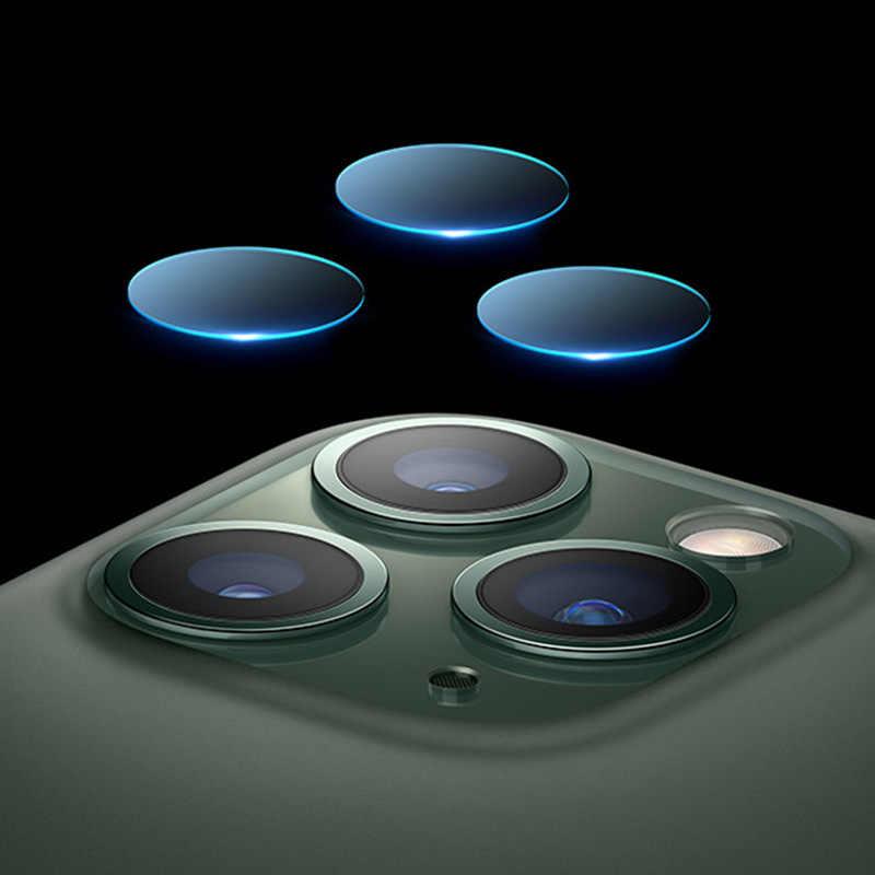 2 pçs/lote limpar voltar câmera lente protetor de tela película protetora vidro temperado para iphone 11 pro xs max x xr 8 7 6 s plus