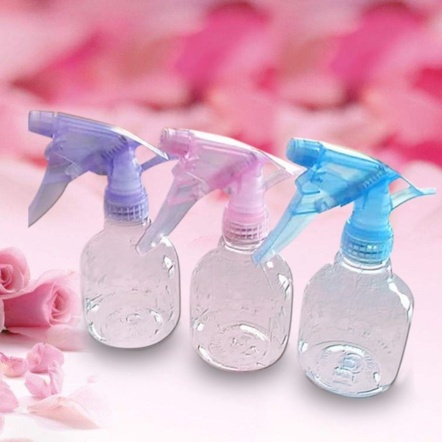 3PCS  New Plastic Spray Bottle Water Mist Sprayer Cleaning Cbottle 250ML