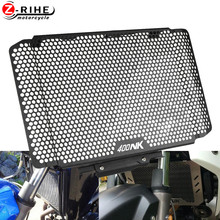 Motorcycle Accessories Radiator Grille Guard Cover Protector Cnc Alumimum For CFMoto CF Moto 400NK 400 NK ABS 2020 2017 2016 On