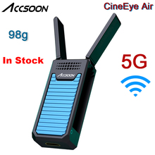 InStock Accsoon CineEye Air 98g 5G WIFI Wireless Video Transmitter 100m FHD 1080P HDMI Transmission for Smartphone Camera Gimbal