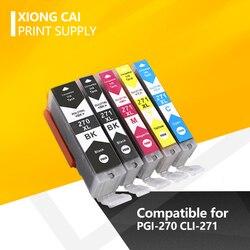 Kompatybilny dla Canon PGI-270 CLI-271 270 271 kompatybilny tusz kartridż do canona PIXMA MG5720 MG6820 MG7720 PIXMA TS5020 drukarki