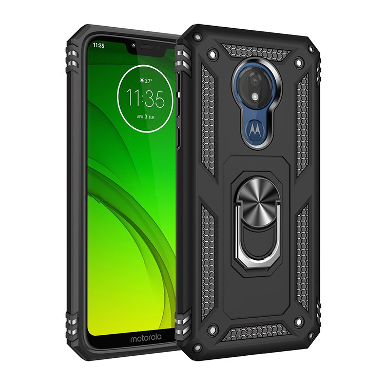 Anti Shock Case For Motorola Moto G8 G7 Power E6 Plus G6 E5 Play Magnet Case With Ring Cover For Moto One Action Zoom Pro Macro