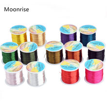 28 26 24Gauge Beading Floral Colored Jewelry Making Copper Craft Wire Soft DIY Metal Craft Art Wire 62-100Meters