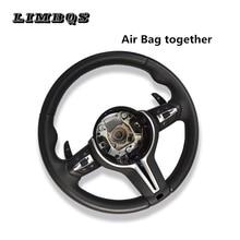 100% original volante automóvel acessórios originais estilo do carro para bmw 5 6 7 series f10 f11 2010 2016 substituição automática