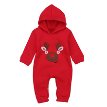 Christmas Baby Cotton Rompers Baby Boy Clothes Newborn Clothing Baby Girl  Bodysuits Clothes Bebe Infant Baby Headed Jumpsuits цена в Москве и Питере