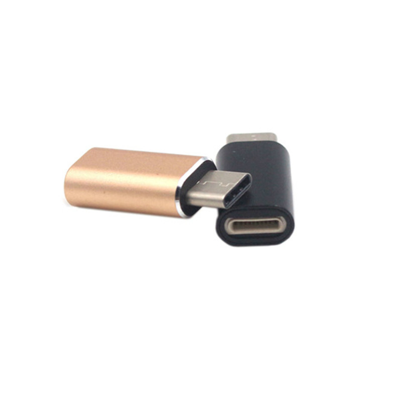 Fast Charging For Lightning Female To Type-C USB-C Male Charger Cable Adapter Charging Type-C Aluminium Alloy Converter