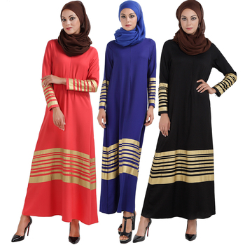 kleid Dubai Open Abaya Muslim Party dresses Women Kaftan Cotton Striped Turkish Islamic Arab Women Costume Casual Wear muslim women abaya side slit fine embroidery arab long dresses female elegant party vestidos