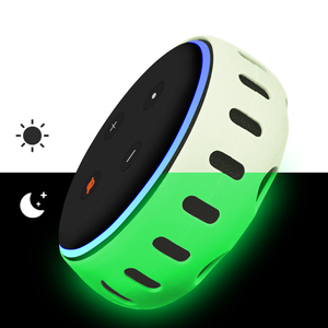 Silicone Case for Echo Dot 3rd Generation Smart Speaker Cover Protective Holder Skin Sleeve Stand Light Weight Soft Shoc