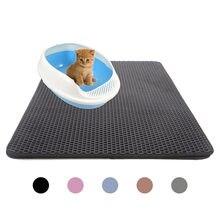 Animais de estimação gatos cama cama tapete chão casa dupla camada eva couro à prova dwaterproof água inferior coletor casa portátil wearable novo