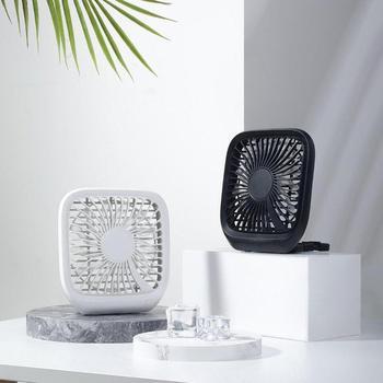 Creativo ventilador del asiento trasero del coche de verano ligero portátil y pequeño ventilador plegable del coche silencioso ventilador plegable regalo