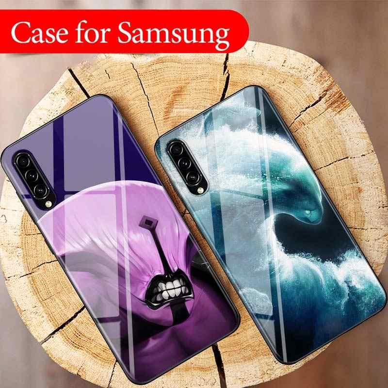Ốp Đen Dota 2 Trò Chơi Dành Cho Samsung Galaxy Samsung Galaxy A90 A80 A70S A60 A50S A40 A20E A20 A10S Siêu Sáng Điện Thoại ốp Lưng
