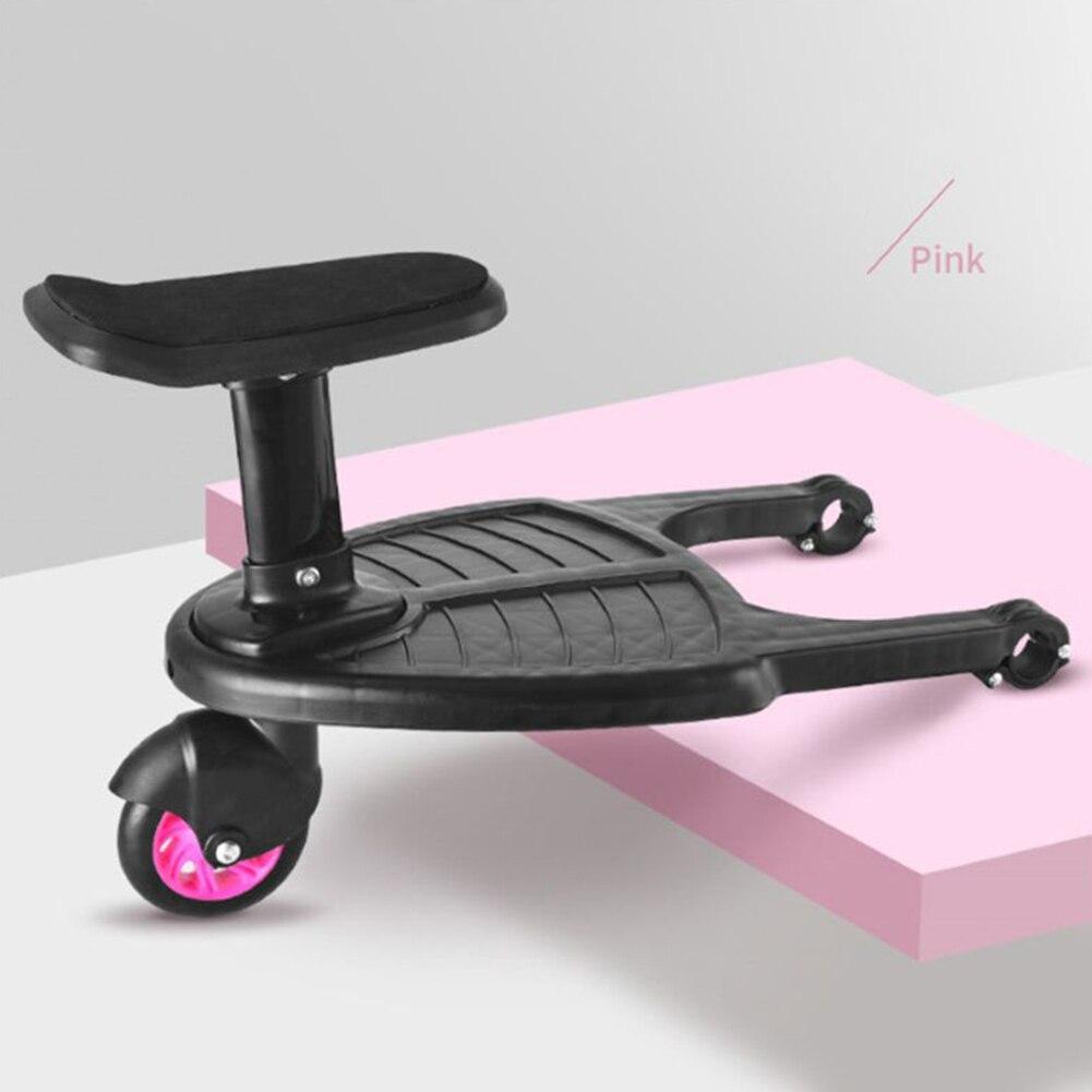 Тележка мода на круглой подставке путешествия сиденье Близнецы второй аксессуары для детей адаптер трейлер артефакт подвесная коляска педаль