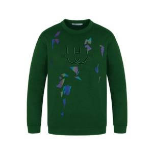 Image 5 - HW Mens Fashion Hoodies O Neck Loose Fit Long sleeved Sweatshirt Japanese Streetwear Hip Hop Clothing