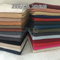 2019 Tecidos Tissus Getzner Cotton And Linen Washing Cloth Qiu Dong Solid Color Drape Ramie The Restoring Ancient Ways Fabrics