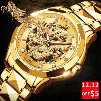 Męskie zegarki zegarek dla mężczyzn męski zegarek sportowy zegarki męskie 2020 człowiek zegarki lżejsze zegar mechaniczne zegarki darmowa wysyłka tanie i dobre opinie ZONGJI 22cm Biznes QUARTZ 3Bar Składane zapięcie z bezpieczeństwem CN (pochodzenie) Żółte złoto 11 8mm Szafirowe