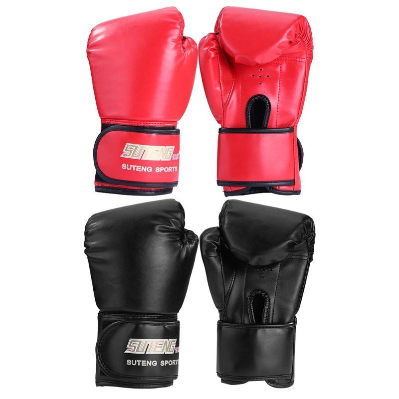 2pcs Adults Man/Woman Boxing Training Fighting Kickboxing Sponge Gloves