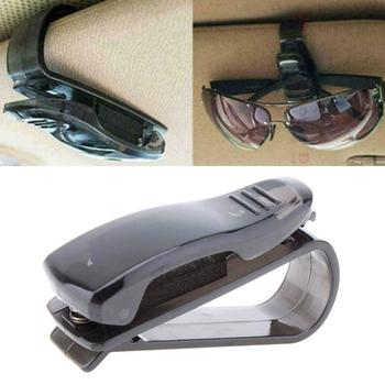 2020 Black Auto Fastener Cip Car Accessories ABS Car Holder Vehicle Eyeglasses Ticket Sun Sunglasses Clip Visor Glasses L6A7 image