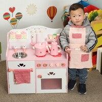 Классический вид кухонные игрушки имитировать шеф повара свет кухонные наборы Кук забавная игра девочка подарок игрушки для девочек миниа