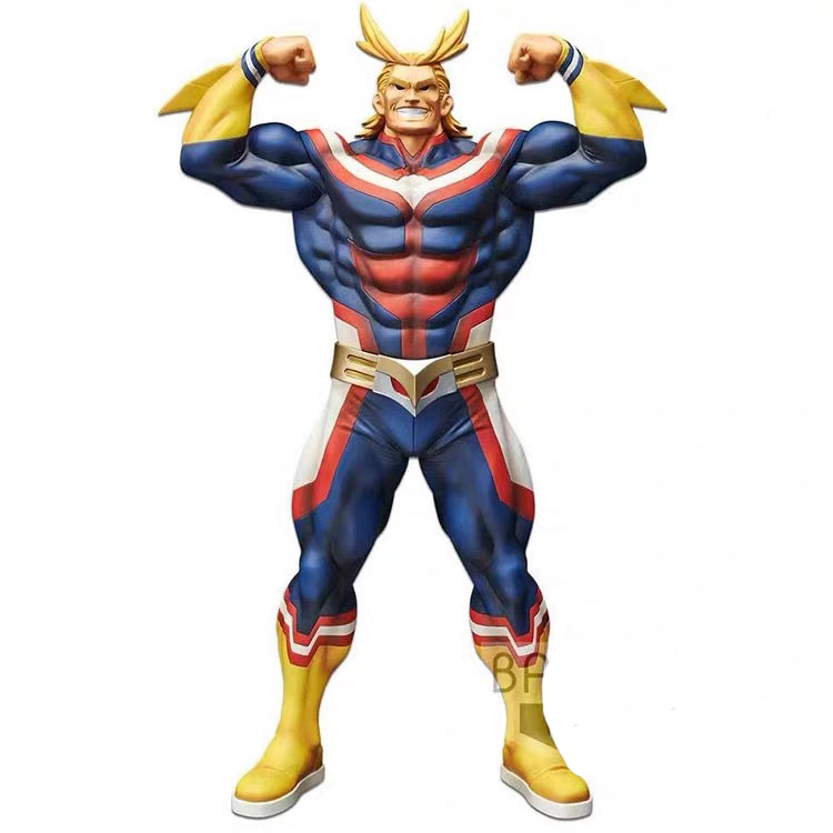 Original Banpresto My Hero Academia Overseas Limited All Might Figure Brinquedos Figures