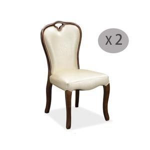2 шт., светильник, бежевые резиновые твердые деревянные стулья, искусственная кожа, мягкая подушка, дизайнерская мебель для столовой, стул, ...