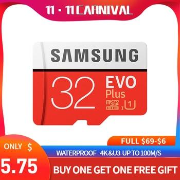 Samsung Evo plus micro sd card 32GB 64GB 128GB 256GB 512GB sdxc u3 cartao de memoria tarjeta sd compact flash  tablet laptop
