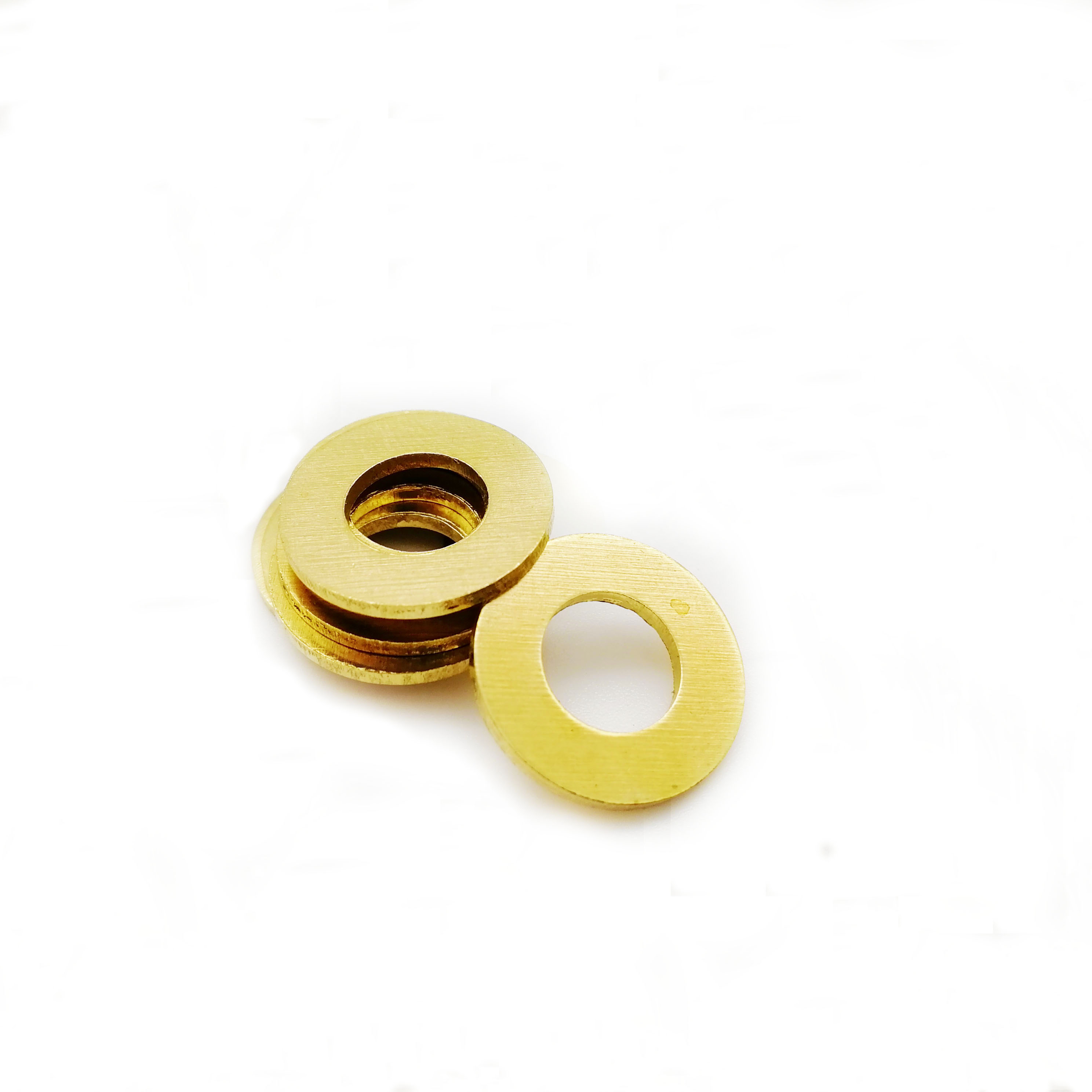 M2 M2.5 M3 M4 M5 M6 <font><b>M8</b></font> M10 Brass flat <font><b>washer</b></font> shim Copper gasket Flat <font><b>Washer</b></font> Thickness 0.4/0.5/0.8/1/1.2mm image