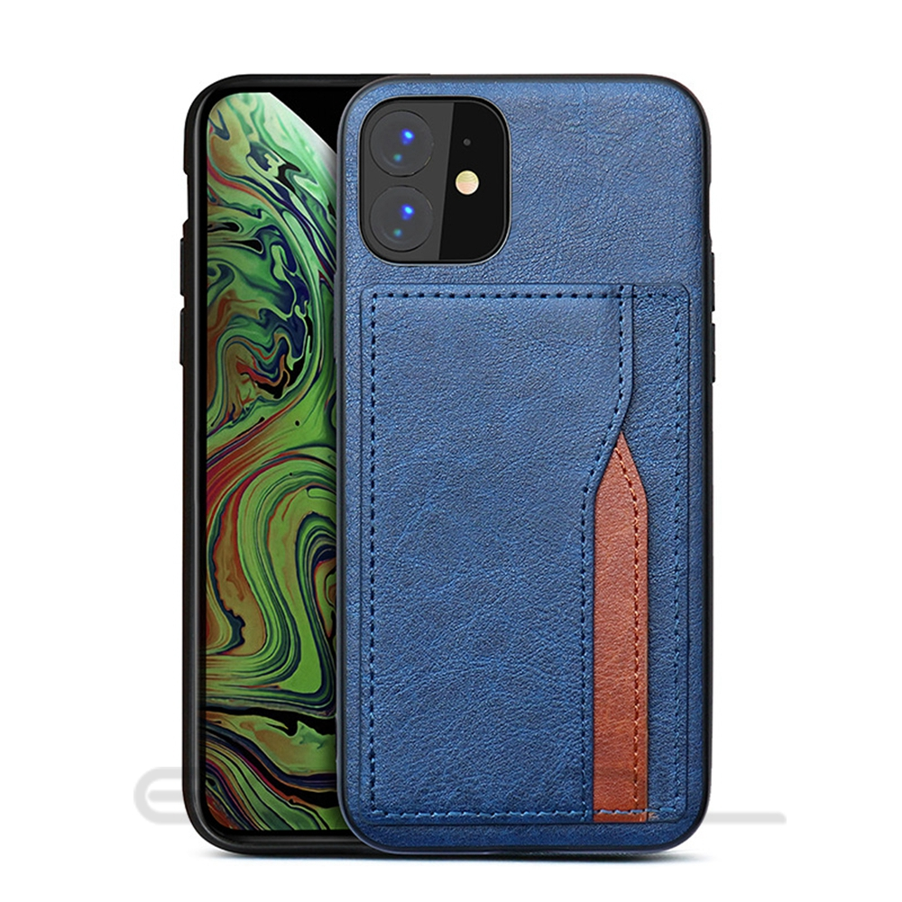H3e593162fe5f4b76bf348ecc2633c5d9u Eqvvol Retro PU Leather Case For iPhone 11 Pro MAX 2019 Multi Card Wallet Case For iPhone X XS MAX XR 11 Shockproof Cover Coque