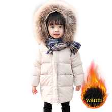 Girls Parka Coat Clothing Hoodies Fur Toddler Winter Children's with for Thick Warm