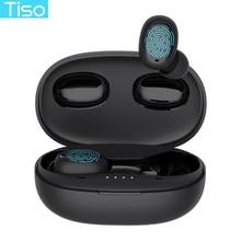 TWS стереонаушники Tiso i6 с поддержкой Bluetooth 5,0 и микрофоном