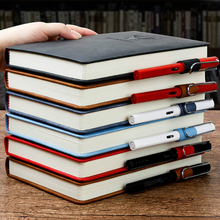 360 Pages B5 Notebook Work Meeting Office Stationery PU Leather Cover Thickened A5 Business Notebook College Birthday Notebook