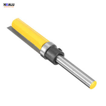 N1/4\'\'*1/2*38mm Trimming Cutters 1/4 Inch Router Bit Shank Bearing Flush Trim Straight Flute Furniture Carving Tools - DISCOUNT ITEM  5 OFF Tools