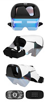 Occhiali VR AR montati sulla testa AR 50 ° FOV AR cuffie, smart AR 3D video realtà aumentata cuffie VR realtà virtuale immersiva