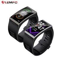 LEMFO-reloj inteligente DM12 para hombre y mujer, accesorio de pulsera resistente al agua IP68 con pantalla grande de 2020 pulgadas y control del ritmo cardíaco y de la presión sanguínea, 1,91