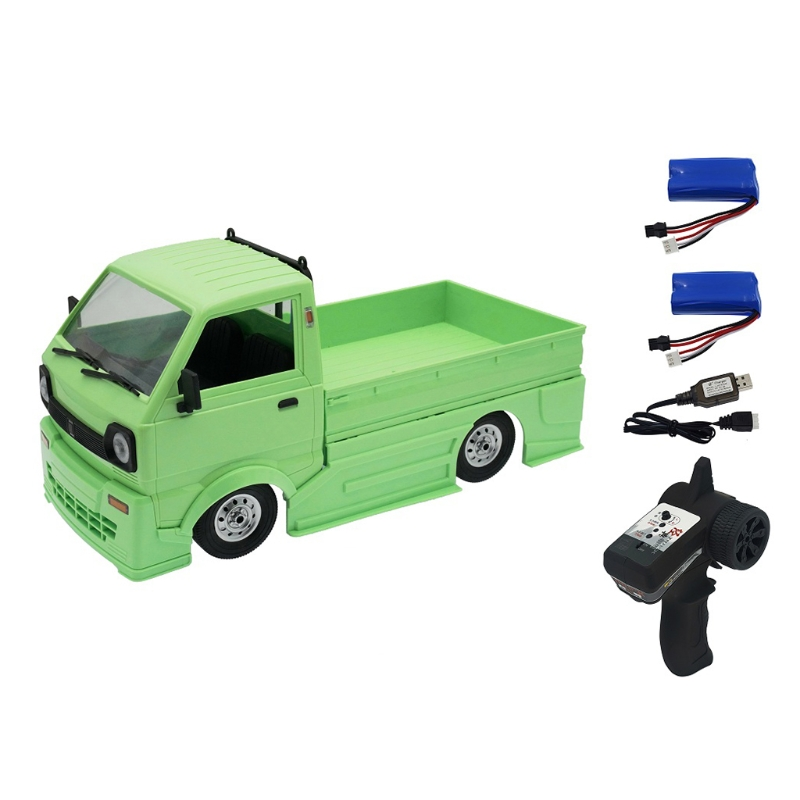 124D 2.4G 7.4V500mAh RC Realistic On-road Vehicle RC Climbing Simulation RC Drift Car Interactive Electric Toy for Kid